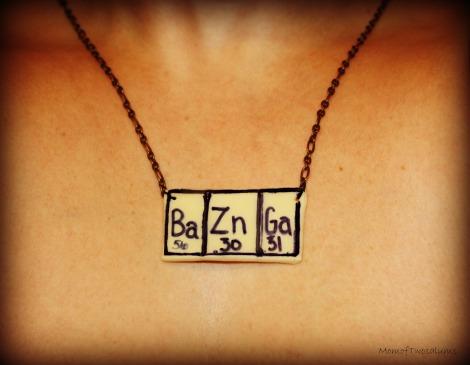 bazinga necklace