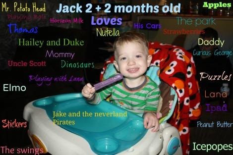 Jack 2 loves