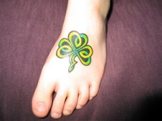 shamrock foot